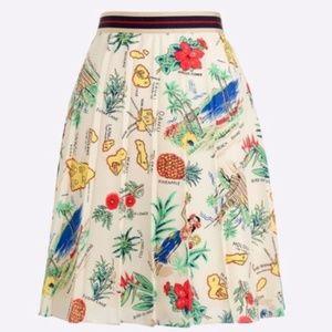 J. Crew Haiiwan Print Skirt! - never been worn